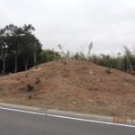 円形の墳丘